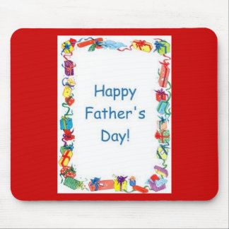 Happy Father's Day Gifts Mouse Mat