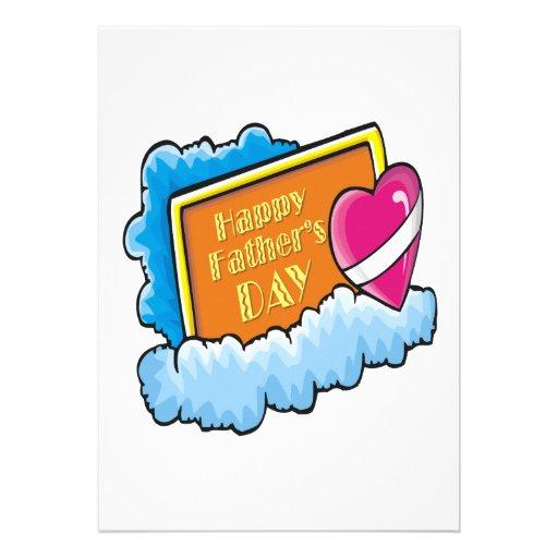Happy Fathers Day Custom Invite