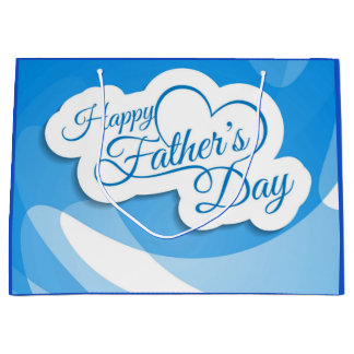 Happy Father's Day Large Gift Bag