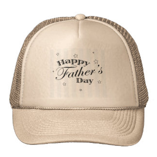 Happy Father's Day Message Cap