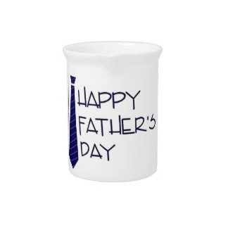 Happy Fathers Day Pitcher