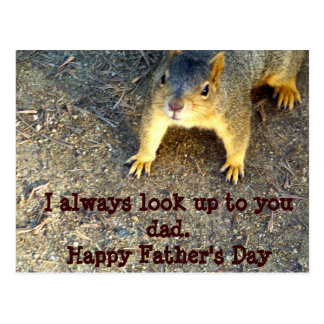 Happy Father's Day_Postcard Postcard
