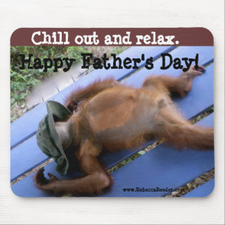Happy Father's Day Relaxation Mouse Pad