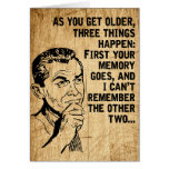 Happy Father's Day Retro Rustic Dad Humour Greeting Card