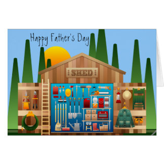 """Happy Father's Day """"Sharpest Tool in the Shed"""" Card"""