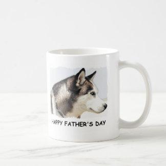 HAPPY FATHERS DAY SHEP LOOK BASIC WHITE MUG