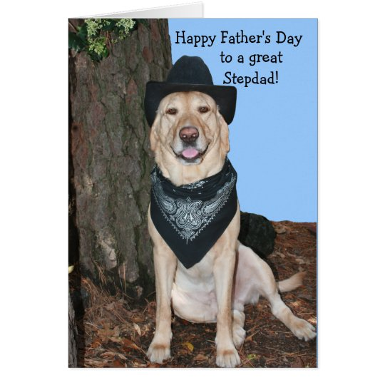 Happy Father's Day Stepdad Card