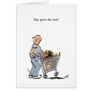 Happy Father's Day to the Best Dad! Card