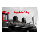 Happy Father's Day Train Cards
