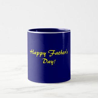 Happy Father'sDay!-Mug Two-Tone Mug