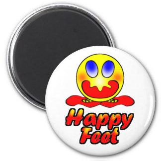 Happy Feet Refrigerator Magnets