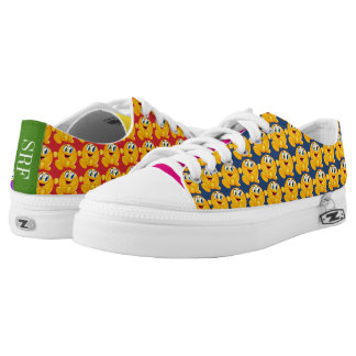 Happy Feet - Make Ya Wanna Smile Printed Shoes