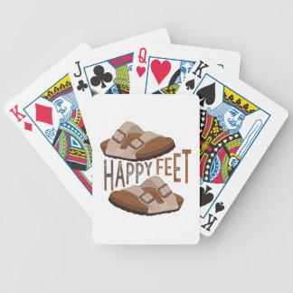Happy Feet Poker Deck