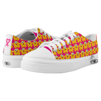 Happy Feet - REV Cancer Awareness Walk With Me Printed Shoes