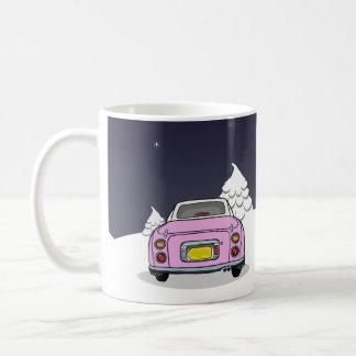Happy Figmas - Pink Nissan Figaro Mug