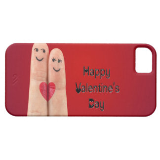 Happy Fingers Valentines Day Case For The iPhone 5