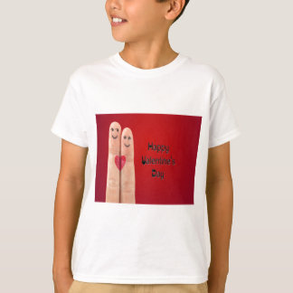 Happy Fingers Valentines Day T-Shirt