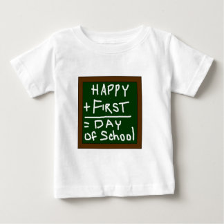 Happy First Day of School Infant Shirt