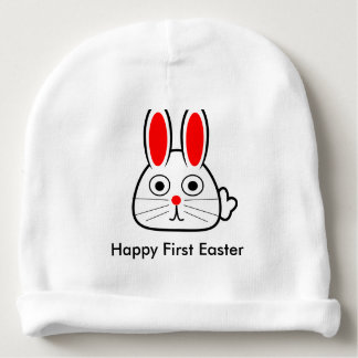 Happy First Easter 2017 Baby Beanie