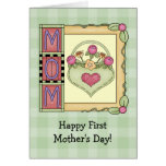 Happy First Mother's Day Greeting Cards