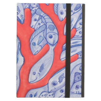 Happy Fish and Coral iPad Air Case