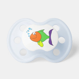 Happy Fish Baby Pacifier