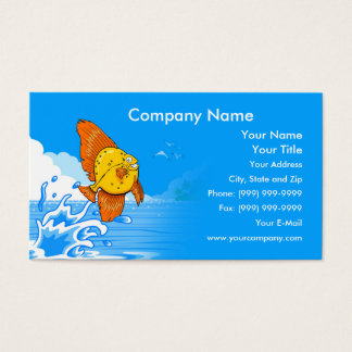 Happy Fish Business Card