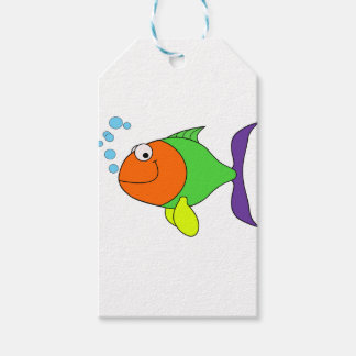 Happy Fish Gift Tags