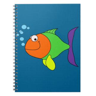 Happy Fish Notebooks