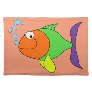 Happy Fish Placemat
