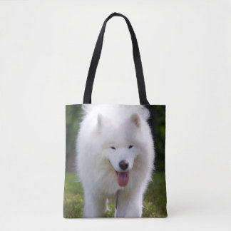 Happy Floofer Ty - All-Over Tote Bag