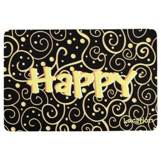 Happy Floor Mat