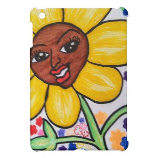 HAPPY FLOWER iPad MINI COVER
