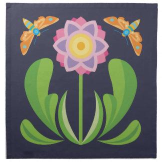 Happy Flower Napkin