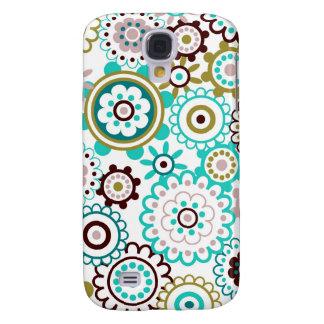 Happy Flowers 3 Samsung Galaxy S4 Case