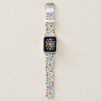 Happy Flowers Apple Watch Band