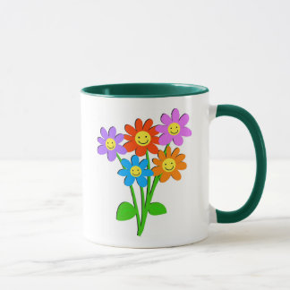 Happy Flowers Mug
