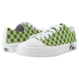 Happy Four Leaf Clover Low Tops