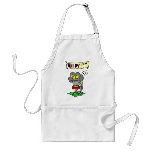 Happy Fourth Cookout Aprons