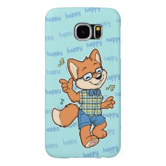 Happy Fox Samsung Galaxy S6 phone case