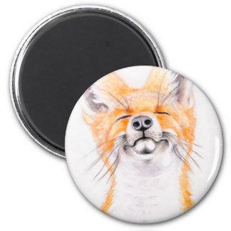Happy Foxy Magnet