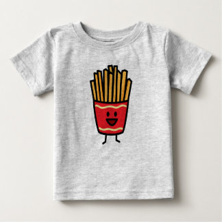 Happy French Fries Baby T-Shirt