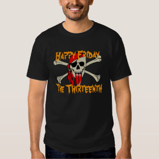 Happy Friday the 13th!  Spooky Smile Shirt
