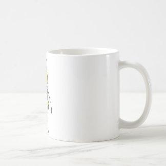 Happy Friendly Bee Saying Hi to You Coffee Mug
