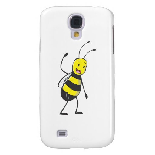 Happy Friendly Bee Welcoming You Galaxy S4 Cover