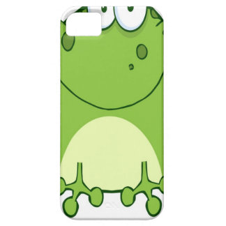Happy Frog Cartoon Character iPhone 5 Covers