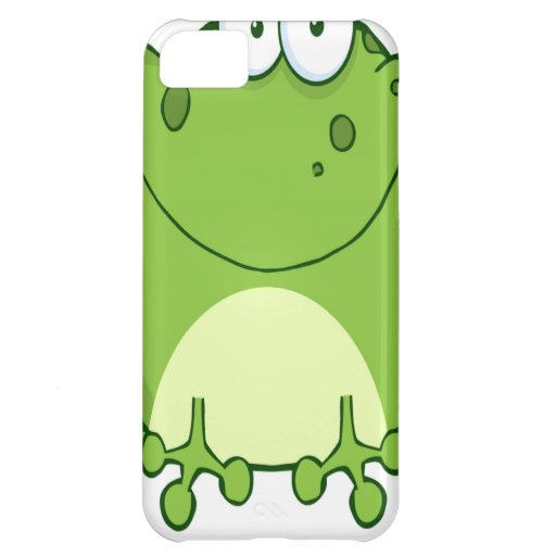 Happy Frog Cartoon Character Cover For iPhone 5C