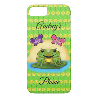 Happy Frog Cell Phone Cover