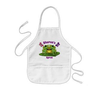 Happy Frog Children's Apron