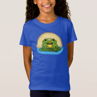 Happy Frog Girl's T-Shirt